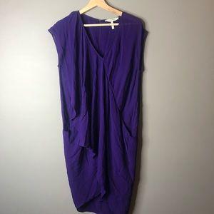 Bcbg Maxazria runway purple dress size xs